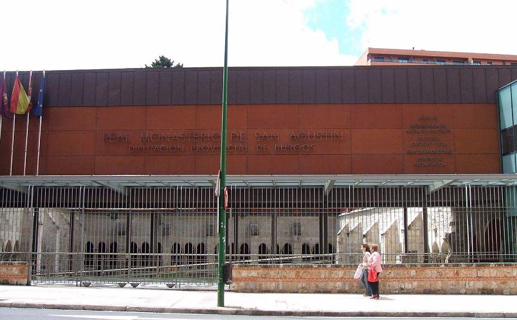 Amigos para siempre monasterios por pa ses espa a for Piscinas san agustin burgos
