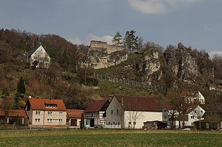Wolfsberg Castle (Obertrubach) castle in Obertrubach