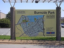 Map of Burnside Park