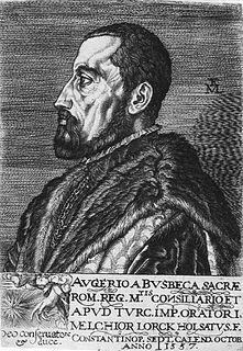 Ogier Ghiselin de Busbecq Flemish scholar