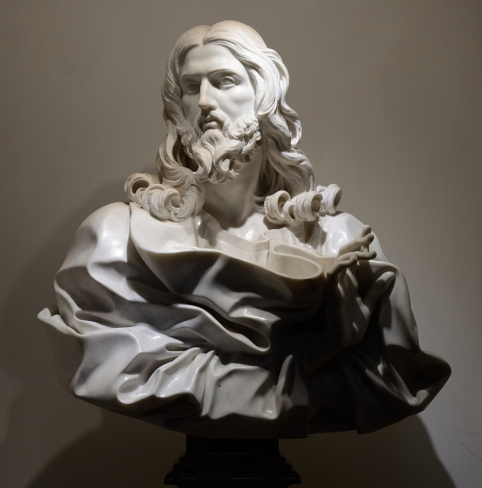 Bust of Jesus Christ by Gianlorenzo Bernini