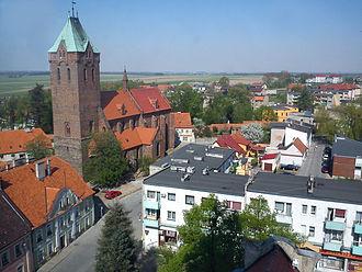 Byczyna - Image: Byczyna from the Tower (5)
