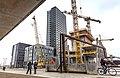Byggarbetsplats Copenhagen Tower Orestad 20140319 1 (13694554725).jpg