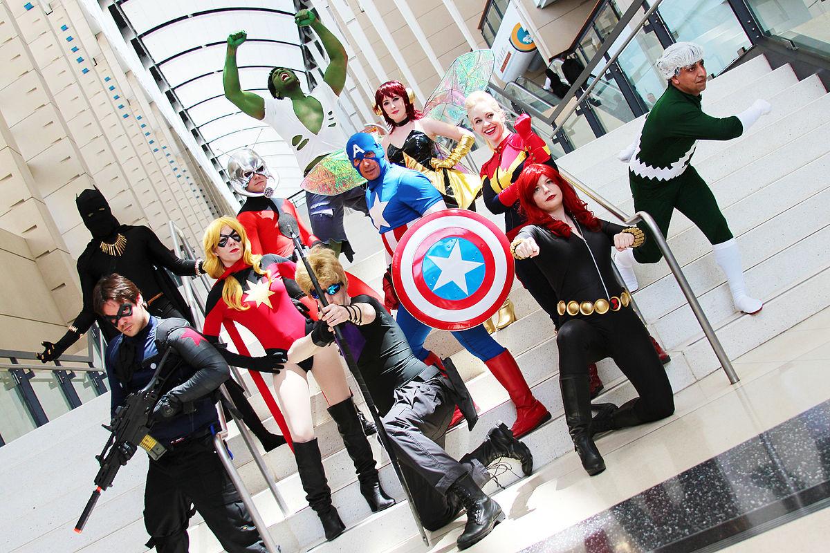 Captain Marvel Avengers Dessin Anime - Movie Stream 4K Online
