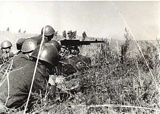 Battle of Petrikowka - Italian CCNN troops during Operation Barbarossa.