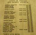 CCPA judges list at Fed. Cir. courthouse.jpg