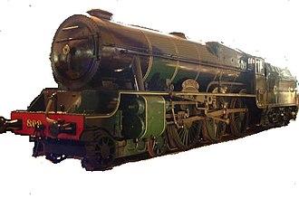 1939 in rail transport - First GSR Class 800, No. 800 Maedhbh, Ireland's most powerful locomotive