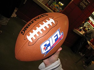 Continental Indoor Football League - The CIFL's 2007 game ball