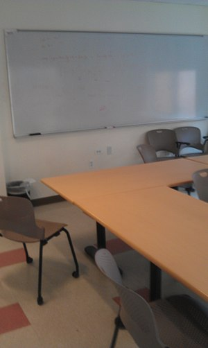 Courant Institute of Mathematical Sciences - Classroom at Warren Weaver Hall