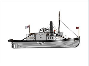 USS Samson (1860) - Image: CSS Sampson (Concept)