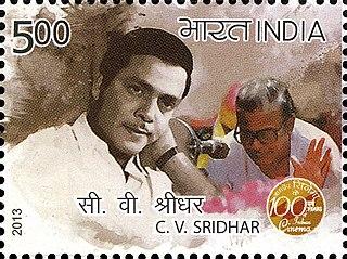 C. V. Sridhar Indian screenwriter and film director (1933–2008)
