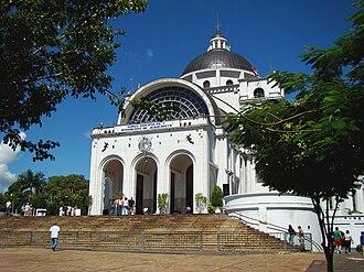 Cordillera Department - Basilica of Caacupé