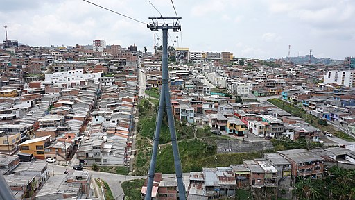 Cable Car from Manizales zu Villa Maria
