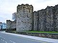 Caernarfon Town Walls - geograph.org.uk - 1811379.jpg