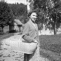 Cajna (košara) za krompir, solato in drugo drobnarijo, Zadlog 1959.jpg