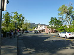Calistoga near 1277 Lincoln Avenue looking north.JPG