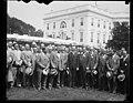 Calvin Coolidge and group outside White House, Washington, D.C. LCCN2016888490.jpg