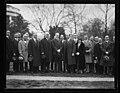 Calvin Coolidge and group outside White House, Washington, D.C. LCCN2016893357.jpg