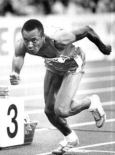 Calvin Smith American sprinter