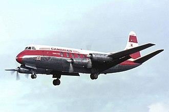 Vickers Viscount - Cambrian Airways Vickers Viscount