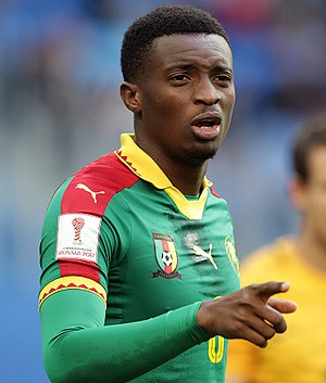 Benjamin Moukandjo - Moukandjo at the 2017 FIFA Confederations Cup