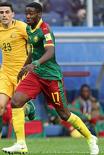 Arnaud Djoum Cameroonian footballer