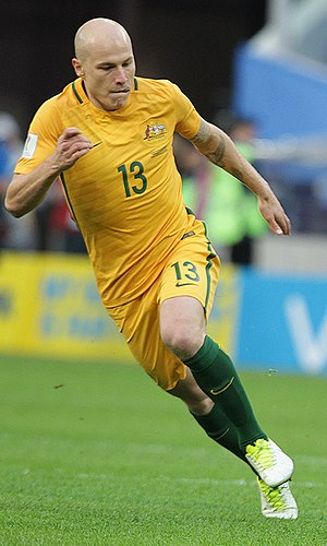 Aaron Mooy - Mooy playing for Australia in 2017