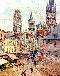 La plus vieille auberge de France, à Rouen dans HUMEUR DES ANCETRES 200px-Camille_Pissarro_036