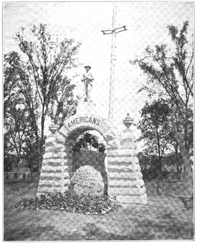 Camp Chase Memorial in 1909