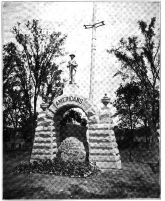 Confederate Soldier Memorial (Columbus, Ohio) - The monument in 1909