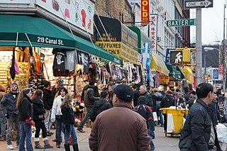 Canal Street (Manhattan) Street in Manhattan, New York