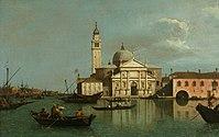 Canaletto - The Church of San Giorgio Maggiore, Venice GMIII MCAG 1984 30.jpg