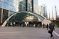 Canary Wharf Underground main entrance.jpg
