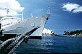 Canberra (ship) in Sydney.jpg