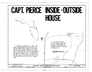 Captain Pierce House, Boston Avenue, Altamonte Springs, Seminole County, FL HABS FLA,59-ALTSP,1- (sheet 1 of 7).png