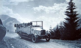 Saurer - A Saurer Car-Alpin  in 1930