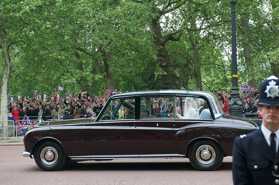Car Marriage Kate Middleton and her father