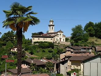 Carabbia - Image: Carabbia Kirche