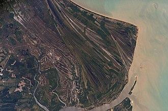 Strand plain - Caravelas strandplain, Bahia Province, Brazil.