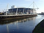 Cardiff Millennium Stadium from Canton Bridge - geograph.org.uk - 713391.jpg