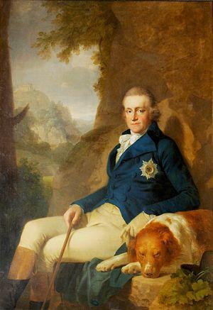 Johann Friedrich August Tischbein - Image: Carl August Sachsen Weimar J.F.A. Tischbein@ Goethe Nationalmuseum