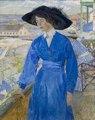 Carl Wilhelmson Girl in Blue Thielska 389.tif