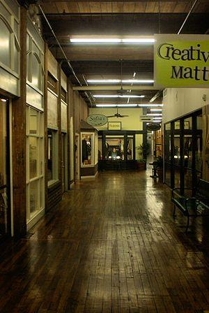 Carrboro, North Carolina - Interior of Carr Mill Mall