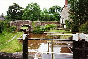 Carreghofa Locks - geograph.org.uk - 710588.jpg