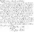 Carta de Fontana sobre la casa de Gregorio Mayo usada para la gobernación del Chubut.jpg