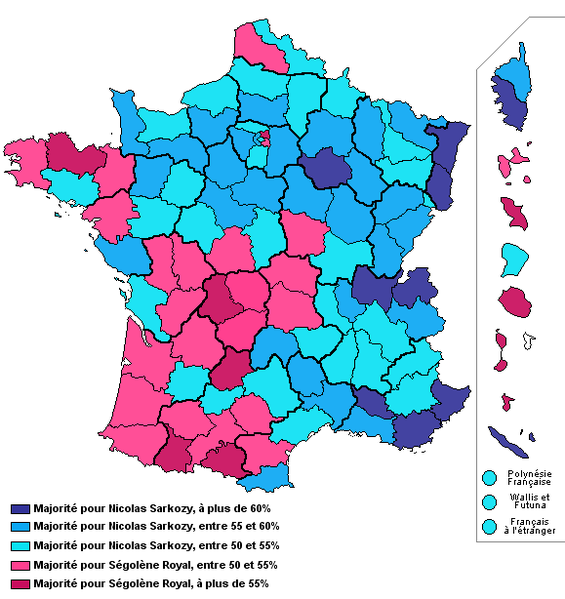 Map of individualism offtopic about french politics - Dates elections presidentielles france ...