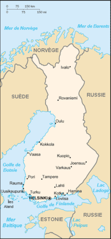 Description de l'image Carte de Finlande.png.