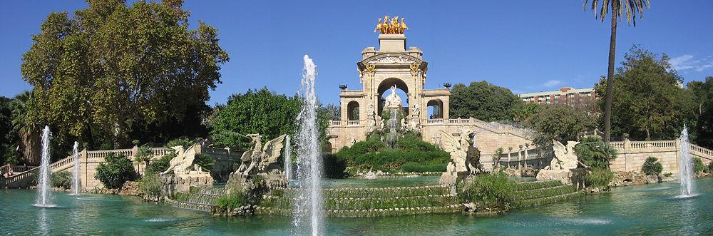 Resultado de imagen de parque de la ciutadella
