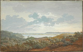 Rügen landscape with bay