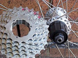 Cogset - Shimano cassette and freehub